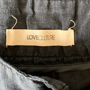 Love Culture Shorts - Love Culture Linen Blue Shorts